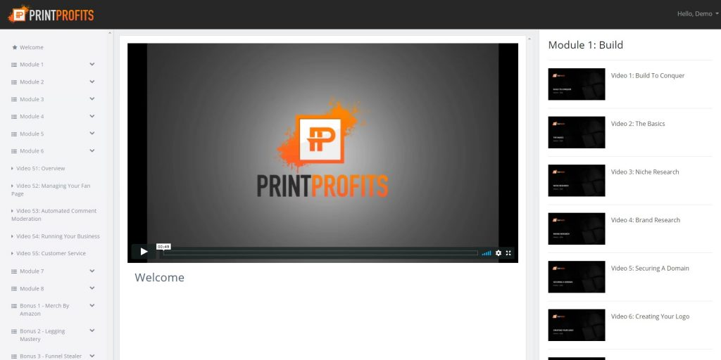 Print Profits Members Area